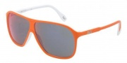 D&G DD3073 Sunglasses Sunglasses - 19456P Top Orange on White Red Mirror Multilayer