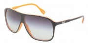 D&G DD3073 Sunglasses Sunglasses - 19468G Top Black on Orange Gray Gradient