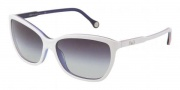 D&G DD3074 Sunglasses Sunglasses - 18738G Top White Red / Blue Gray Gradient