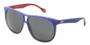 D&G DD3076 Sunglasses Sunglasses - 196987 Blue Gradient on Red / Gray