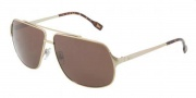 D&G DD6087 Sunglasses Sunglasses - 488/73 Pale Gold / Brown