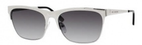 Juicy Couture Juicy 515/S Sunglasses Sunglasses - 06LB Silver (Y7 Gray Gradient Lens)