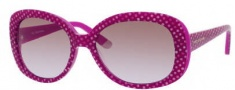 Juicy Couture Juicy 517/S Sunglasses Sunglasses - 0RE9 Dragonfruit / Dot (C0 Brown Lavender Lens)