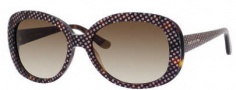 Juicy Couture Juicy 517/S Sunglasses Sunglasses - 0RE5 Tortoise / Dots (Y6 Brown Gradient Lens)