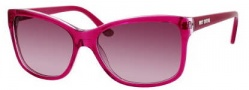 Juicy Couture Juicy 519/S Sunglasses Sunglasses - 01Z8 Fuchsia Crystal (HC Merlot Burg Shaded Lens)