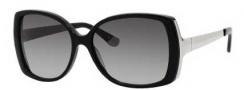 Juicy Couture Juicy 521/S Sunglasses Sunglasses - 0807 Black (Y7 Gray Gradient Lens)