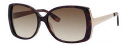 Juicy Couture Juicy 521/S Sunglasses Sunglasses - 0086 Dark Havana (Y6 Brown Gradient Lens)