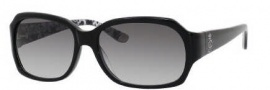 Juicy Couture Juicy 522/S Sunglasses  Sunglasses - 0807 Black (Y7 Gray Gradient Lens)