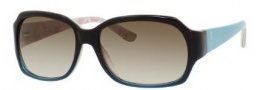 Juicy Couture Juicy 522/S Sunglasses  Sunglasses - 0RH2 Brown Aqua Fade (Y6 Brown Gradient Lens)