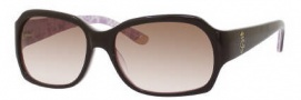 Juicy Couture Juicy 522/S Sunglasses  Sunglasses - 0ERN Expresso Pink (RN Brown Pink Lens)