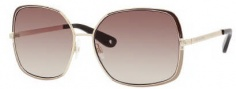 Juicy Couture Juicy 527/S Sunglasses Sunglasses - 0J5G gold (Y6 Brown Gradient Lens)