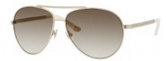 Juicy Couture Juicy 529/S Sunglasses Sunglasses - 0J5G Gold (CR Olive Gradient Lens)
