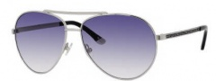 Juicy Couture Juicy 529/S Sunglasses Sunglasses - 0YB7 Silver (X0 Navy Gradient Lens)