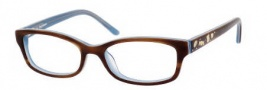 Juicy Couture Juicy 902 Eyeglasses Eyeglasses - 0FMI Blonde / Tortoise Blue