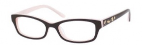 Juicy Couture Juicy 902 Eyeglasses Eyeglasses - 0ERN Espresso / Ice Pink