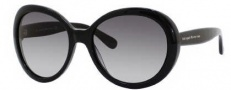 Kate Spade Nerissa/S Sunglasses Sunglasses - 0807 Black (Y7 Gray Gradient Lens)