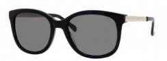 Kate Spade Gayla/S Sunglasses Sunglasses - 0807 Black (BN Dark Gray Lens)