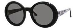 Kate Spade Graceann/S Sunglasses Sunglasses - 0FB5 Black (BN Dark Gray Lens)