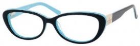 Kate Spade Stephie Eyeglasses Eyeglasses - 0JRH Black Pool