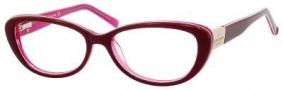Kate Spade Stephie Eyeglasses Eyeglasses - 0CZ9 Mahogany Pink