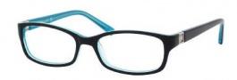Kate Spade Regine Eyeglasses Eyeglasses - 0DH4 Black Aqua