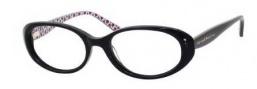 Kate Spade Jannie Eyeglasses Eyeglasses - 0X15 Black Red Spade