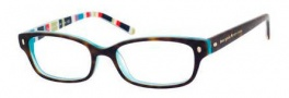 Kate Spade Lucyann Eyeglasses Eyeglasses - 0X77 Tortoise Aqua Striped