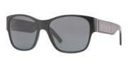 Burberry BE4104 Sunglasses Sunglasses - 300187 Shiny Black / Gray