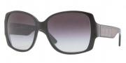 Burberry BE4105 Sunglasses Sunglasses - 30018G Shiny Black / Gray Gradient