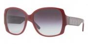 Burberry BE4105 Sunglasses Sunglasses - 32438G Cyclamen / Gray Gradient