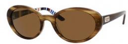 Kate Spade Alathea/P/S Sunglasses Sunglasses - JSFP Fawn Striped (VW Brown Polarized Lens)
