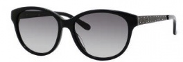 Kate Spade Amalia/S Sunglasses Sunglasses - 0807 Black (Y7 Gray Gradient Lens)