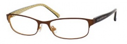 Kate Spade Ambrosette Eyeglasses Eyeglasses - 0JUV Satin Brown Dots