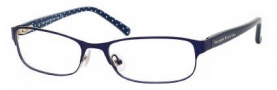 Kate Spade Ambrosette Eyeglasses Eyeglasses - 0DA4 Satin Navy Dots