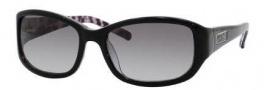 Kate Spade Diana/S Sunglasses Sunglasses - 0JEU Black Animal (Y7 Gray Gradient Lens)