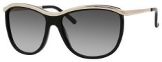 Kate Spade Domina/S Sunglasses Sunglasses - 0ETL Shiny Gold / Black (Y7 Gray Gradient Lens)