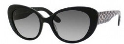 Kate Spade Franca 2/S Sunglasses Sunglasses - 0JEF Black (Y7 Gray Gradient Lens)