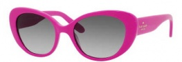 Kate Spade Franca 2/S Sunglasses Sunglasses - 0Y71 Floralsescent Pink (Y& Gray Gradient Lens)
