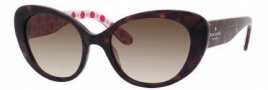 Kate Spade Franca 2/S Sunglasses Sunglasses - 0DE4 Tortoise (Y6 Brown Gradient Lens)