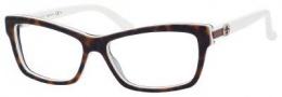 Gucci GG 3562 Eyeglasses Eyeglasses - 0L9Y Dark Havana White