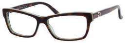 Gucci GG 3562 Eyeglasses Eyeglasses - 0LA2 Havana Green