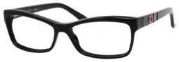 Gucci 3542 Eyeglasses Eyeglasses - 0GAY Black / Green Red Black
