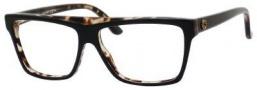 Gucci 3545 Eyeglasses Eyeglasses - 04ZM Black Havana