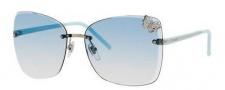 Gucci 4217/S Sunglasses Sunglasses - 0KUF Palladium / Azure (T3 Azure Gradient Lens)