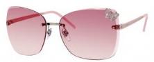 Gucci 4217/S Sunglasses Sunglasses - 0KUJ Palladium / Rose (N8 Orange Pink Gradient Lens)