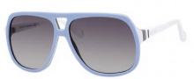 Gucci 5005/C/S Sunglasses Sunglasses - 0KQ7 Light Blue White Gray (N3 Gray Gradient Lens)