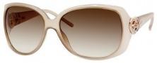 Gucci 3548/S Sunglasses Sunglasses - 05B9 Sand (02 Brown Gradient Lens)
