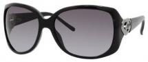 Gucci 3548/S Sunglasses Sunglasses - 0D28 Shiny Black (PT Gray Gradient Lens)