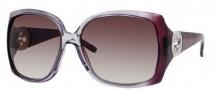 Gucci 3503/S Sunglasses Sunglasses - 0WOU Cyclamen O Gray (J8 Mauve Gradient Lens)