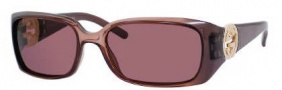 Gucci 3504/S Sunglasses Sunglasses - 0WOO Brown Burgundy (FX Dark Pink Lens)
